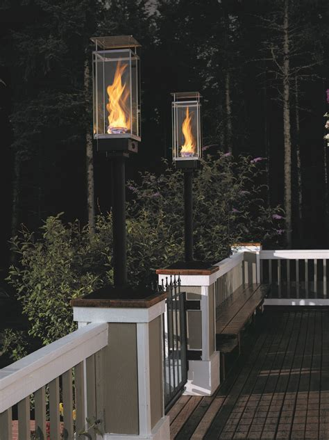 outdoor torch lighting design tempest torch outdoor gas ls and lighting