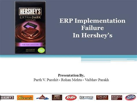 hershey powerpoint template erp implementation failure hershey foods corporation