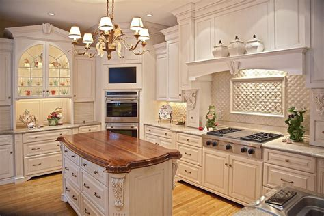 Best Color For Kitchen Cabinets custom painted glazed kitchen by brunarhans kitchen and