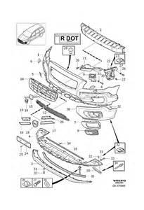 volvo s60 rear bumper diagram volvo free engine image for user manual