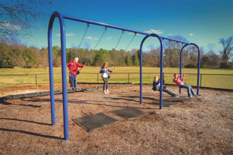 metal commercial swing set swing set paradise commercial playground equipment swing