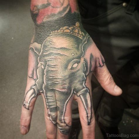 25 unique elephant tattoos on hand 25 unique elephant tattoos on