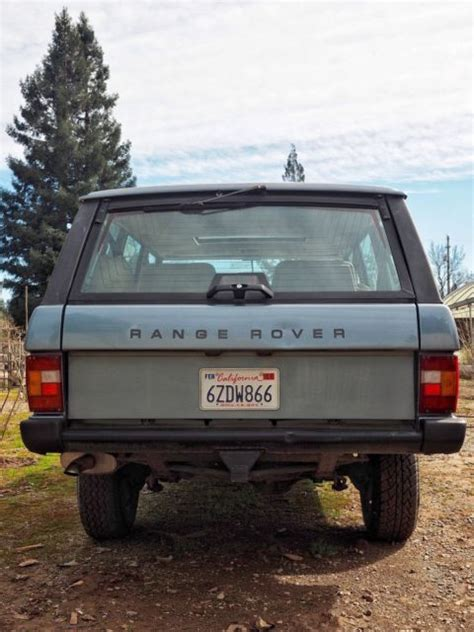 1991 land rover range rover classic for sale land rover range rover 1991 for sale in chico