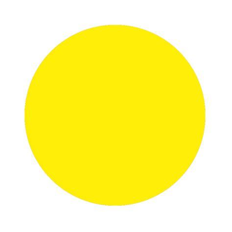Home confetti dots sticker neon yellow