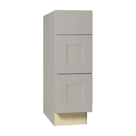 bathroom base cabinets with drawers hton bay shaker assembled 12x34 5x21 in bath vanity
