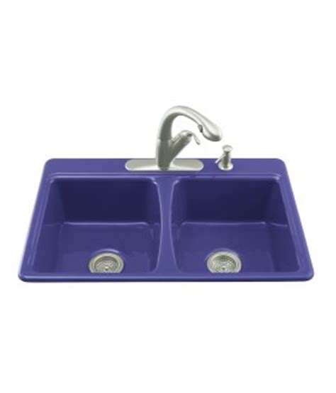 cobalt blue kitchen sink cobalt blue kohler sink used would you do it