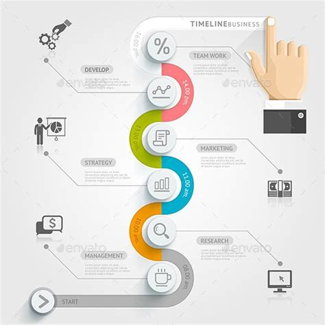 timeline flowchart template 25 best ideas about process infographic on