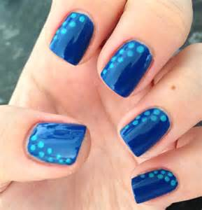 cute and long blue nail designs for winter ideas and 20