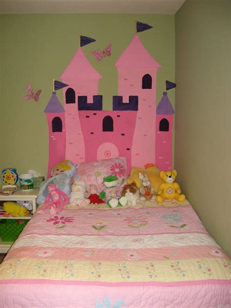 princess castle headboard emily and s rooms