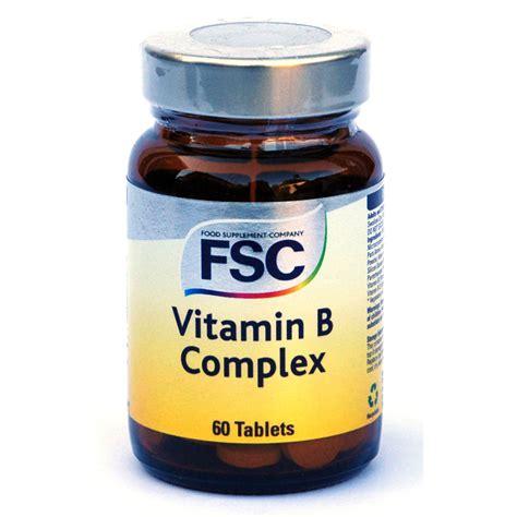 Vitamin B Complex Tablet Fsc Vitamin B Complex 60 Tablets Ebay
