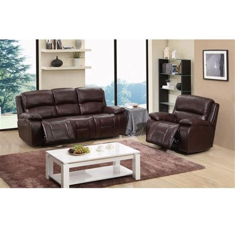 cosmo leather sofa cosmo brown top grain leather reclining sofa and glider