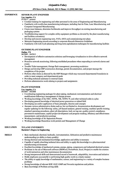 Boiler Engineer Cover Letter by Boiler Engineer Sle Resume Instrument Mechanic Sle Resume How To Write A Termination