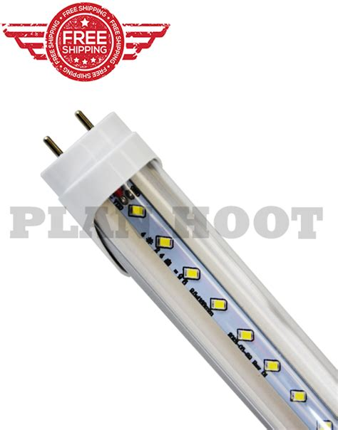 4ft led fluorescent lights t8 24wt 4ft led fluorescent replacement clear lens tube