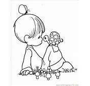 Coloring Page Precious Moments 1 7 Cartoons &gt