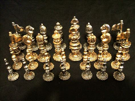 metal chess set metal chess group picture image by tag