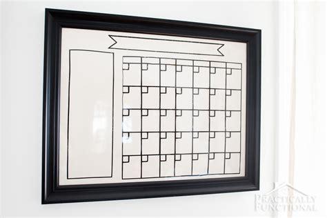 how to make a calendar on a erase board diy erase board calendar diy do it your self