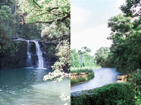 Styles & Ideas: Beautiful Hawaii Waterfall Weddings For