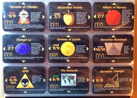 illuminati new world order for sale illuminati new world order inwo ccg 1995