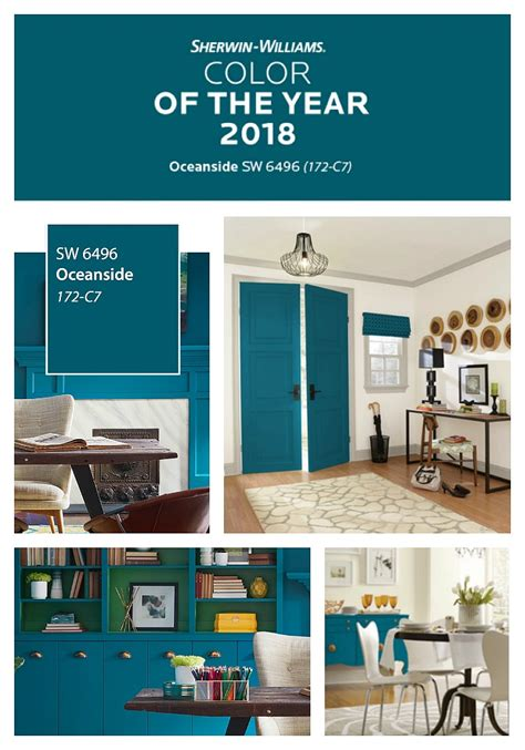sherwin williams oceanside 2018 color of the year 2018 colors of the year
