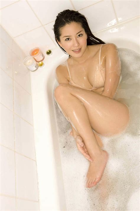 bathroom hot haruna yabuki take a bath actress
