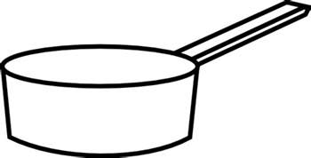 Pan Outline For L sauce pan clip at clker vector clip royalty free domain