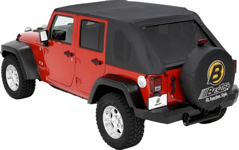 Do Jeep Wranglers Roll Easily Bestop 174 Trektop In Black For 07 14 Jeep 174 Wrangler
