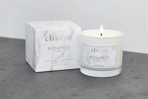 budapest cucumber  dill candle etuhome