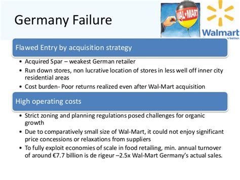 Germany Mba Supply Chain by Walmart Supply Chain
