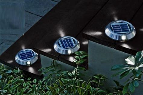 Flat Solar Deck Lights Green Design Blog Flat Solar Lights