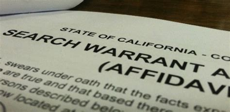 Do You Need A Warrant To Search A Car Subpoena Court Order Search Warrant How The Government Can Get Your Data