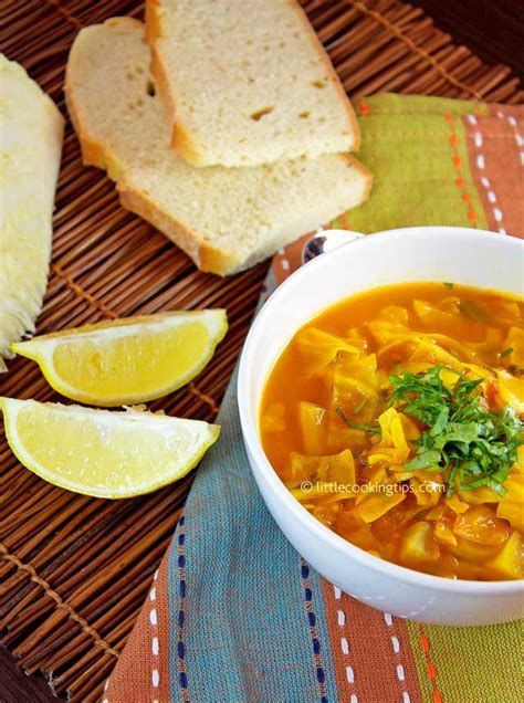 Detox Cabbage Soup by A Warm Spicy Detox Cabbage Soup The Choice For