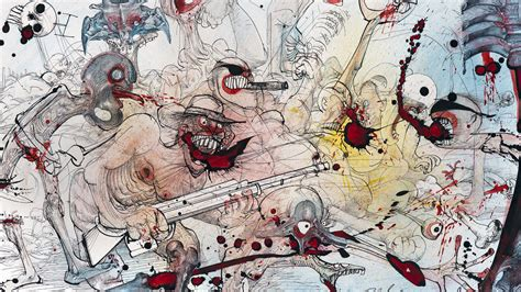 ralph steadman gonzo artist behind fear and loathing