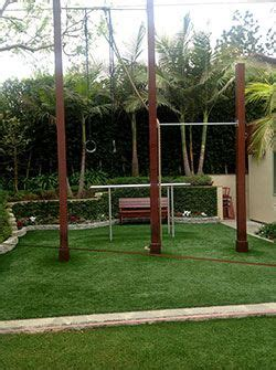 backyard pull  bars  rings backyard gym outdoor