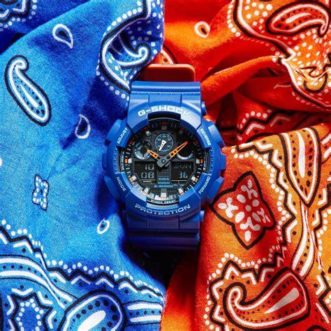 Casio G Shock Ga 100l 1a Original g shock layered color series ga 100l 2ajf