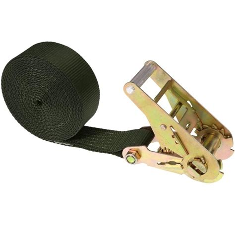 ratchet straps 2 quot x 10 olive heavy duty endless ratchet
