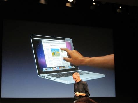 Laptop Apple Touchscreen microsoft s tv ad takes a jab at apple for not