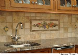Pictures Of Tile Backsplashes In Kitchens by Ceramic Tile Kitchen Backsplash Murals