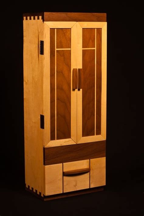 maple jewelry armoire maple walnut jewelry armoire by ckm lumberjocks com