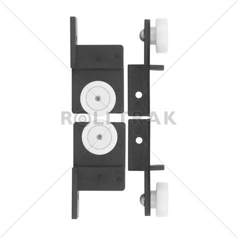 Shower Screen Door Rollers Rolltrak Spares Sliding Door Window Shower Screen Roller Carriage Set I N 3960402 Bunnings