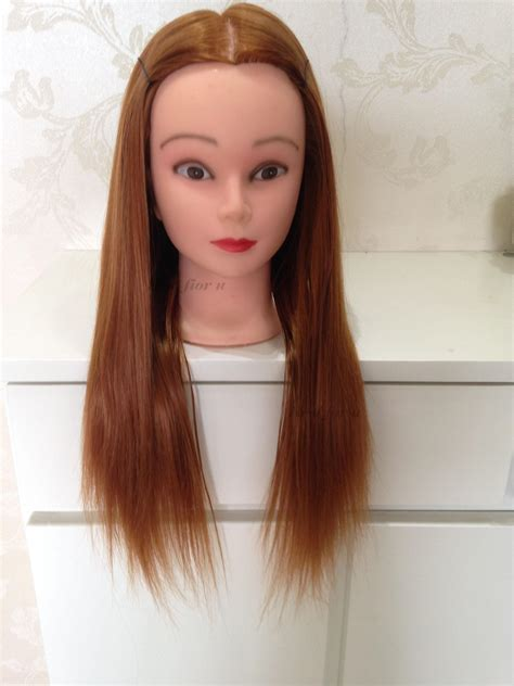 Practice Hair Style Doll by Doll Heads For Hairstyling Fade Haircut
