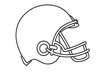 Football Helmet Outline Profile by Alabama Football Svg Etsy