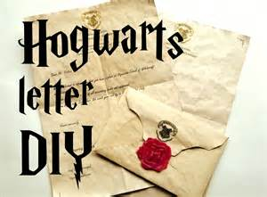 Harry Potter Acceptance Letter Tutorial Diy Hogwarts Letter Harry Potter Tutorial