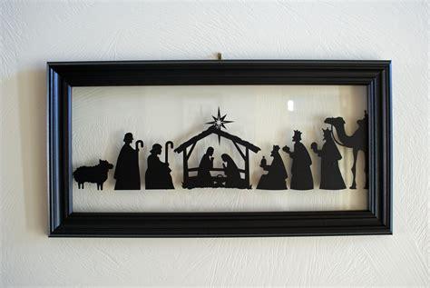 nativity silhouette patterns plans diy   plant