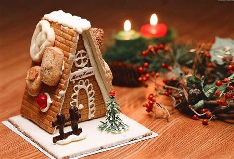 圣诞节素材图片大全 温馨的姜饼屋 圣诞节图片 5068儿童网