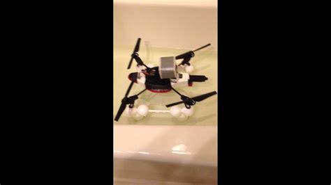 drone with pontoons ar drone 5 pontoon float test youtube