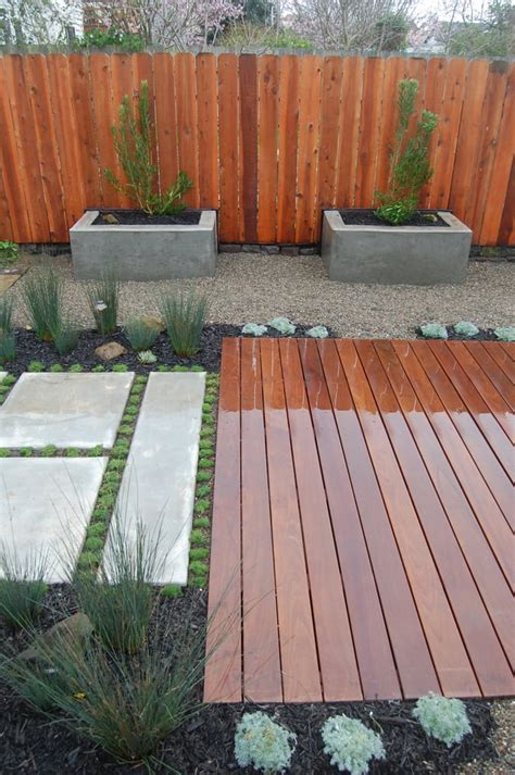wood deck concrete patio concrete patio concrete planting beds and wood deck yelp