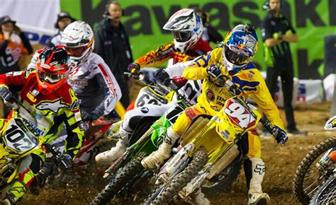 ama results motocross motorcycle com 2015 ama supercross phoenix results