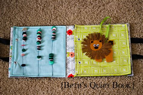 pattern for baby quiet book beth s adorable felt book for baby the crafting chicks