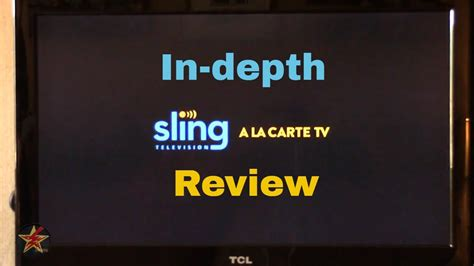 sling tv  roku review youtube