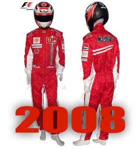 F1 Suit F1 Helmets Net Kimi Raikkonen 2008 Racing Suit Formula 1